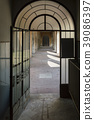 Old steel vintage door 39086397