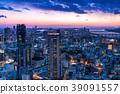 Prefecture จังหวัดโอซาก้าトทิวทัศน์ยามค่ำคืนรอบอุเมดะ 39091557