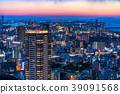 Prefecture จังหวัดโอซาก้าトทิวทัศน์ยามค่ำคืนรอบอุเมดะ 39091568