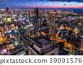 Prefecture จังหวัดโอซาก้าトทิวทัศน์ยามค่ำคืนรอบอุเมดะ 39091576