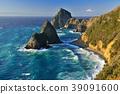 이즈 반도, 후지산, 바다 39091600