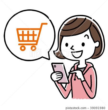 女学生 智能手机 网际网路 39091980