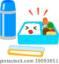Lunch box and water bottle 39093651