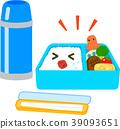 japanese box lunch, canteen, chopstick 39093651