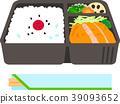商业盒装午餐和筷子 39093652