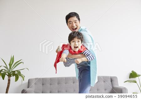 생활,가족,아빠,아들,한국인 39094655