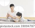 生活,臥室,爸爸,兒子,韓國人 39094787