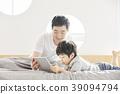 生活,臥室,爸爸,兒子,韓國人 39094794