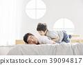 生活,臥室,爸爸,兒子,韓國人 39094817