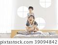 生活,臥室,爸爸,兒子,韓國人 39094842