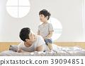生活,臥室,爸爸,兒子,韓國人 39094851