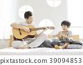 生活,臥室,爸爸,兒子,韓國人 39094853