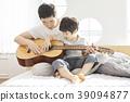 生活,臥室,爸爸,兒子,韓國人 39094877