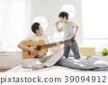生活,臥室,爸爸,兒子,韓國人 39094912