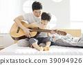 生活,臥室,爸爸,兒子,韓國人 39094926
