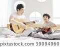 生活,臥室,爸爸,兒子,韓國人 39094960