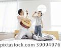 生活,臥室,爸爸,兒子,韓國人 39094976