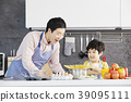 烹飪,爸爸,兒子,韓國 39095111