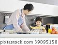 烹飪,爸爸,兒子,韓國 39095158