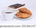 커피, 빵, 음식 39106147