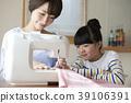 ตัดชุด,ความเป็นพ่อแม่,จักรเย็บผ้า 39106391
