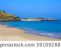 모래사장, 모래 해변, 모래톱 39109288