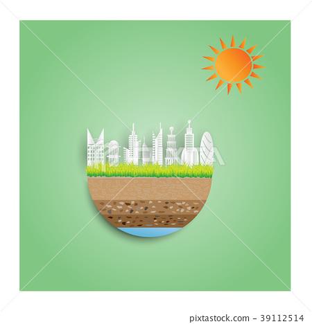 eco green city  concept. 39112514