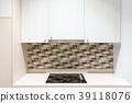 kitchen furniture with contemporary kitchenware  39118076