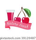 樱桃 水果 果汁 39120487