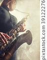 saxophone, woman, musical 39122276