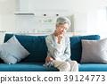 Senior woman worry 39124773