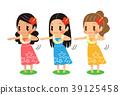 草裙舞 舞 舞蹈 39125458
