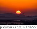 Prefecture จังหวัดโอซาก้า夕ชมพระอาทิตย์ตกเหนือเกาะอาวาจิ 39128222