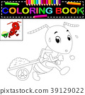 ant coloring book 39129022