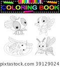 insect coloring book 39129024