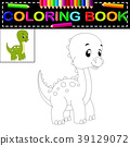 dinosaur coloring book 39129072