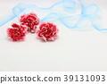 빨간 카네이션 선물 꽃 39131093