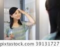 การดูแลความงามการดูแลผิวพรรณการใช้ชีวิตของหญิงสาว 39131727