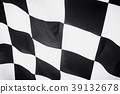 checkered flag, end race background 39132678