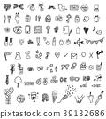 手绘图标集 39132686