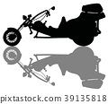 The heavy motor tricycle 39135818