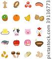 食物过敏 - 根据指定的原料,20种产品的插图材料(显示推荐20种) 39136773