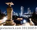 夜景 城市 佛像 39136859