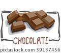 chocolate, bar, sweet 39137456