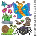 Spring animals and insect theme set 4 39138326
