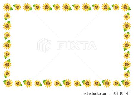 向日葵的框架 39139343