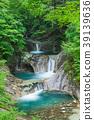 신록 야마나시 _ 七쯔釜 五段の滝 39139636