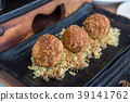 Takoyaki set in Japanese restaurant, Japanese Food 39141762