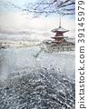 清水寺雪景京都觀光 39145979