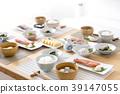 日式早餐在厨房里 39147055